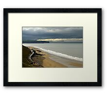The North Yorkshire Coast, After A Storm Framed Print