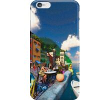 Cafe by the Sea iPhone Case/Skin