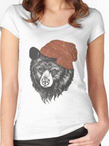 zissou the bear Women's Fitted Scoop T-Shirt