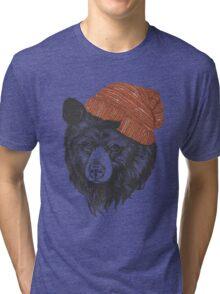 zissou the bear Tri-blend T-Shirt