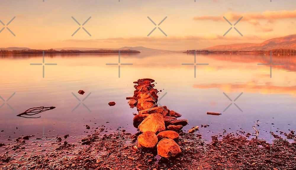 Loch Lomond Sunrise by Stevie Mancini