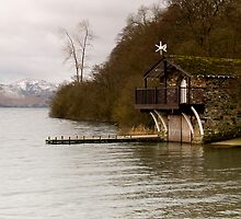 Ullswater Boathouse - The Lake District by Steven  Lee