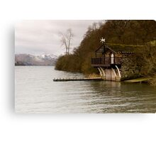 Ullswater Boathouse - The Lake District Canvas Print
