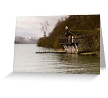 Ullswater Boathouse - The Lake District Greeting Card