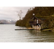 Ullswater Boathouse - The Lake District Photographic Print
