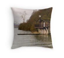 Ullswater Boathouse - The Lake District Throw Pillow