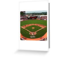 Cincinnati Home of Baseball Fever Greeting Card