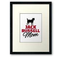 Jack Russel Mom Framed Print
