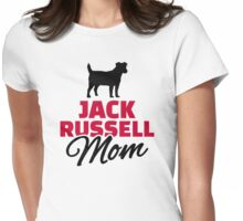 Jack Russel Mom Womens Fitted T-Shirt