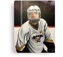 """Hockey Player""  Canvas Print"