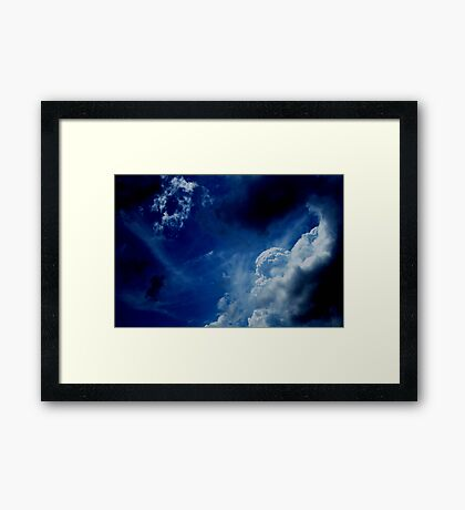HEAVENLY CLOUDS II Framed Print