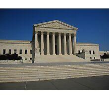 The Supreme Court of the USA Photographic Print