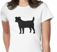 Jack Russel Womens Fitted T-Shirt