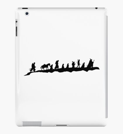 The Fellowship of The Ring (black) iPad Case/Skin