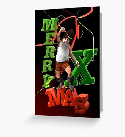 Xmas Dwarf Greeting Card