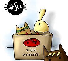 Free Kittens by mandylocklear