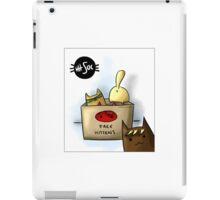 Free Kittens iPad Case/Skin