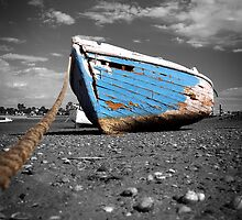 The Blue Boat by Steve Chapple
