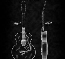 Gretch Guitar 1941 Patent-BK by Barry  Jones
