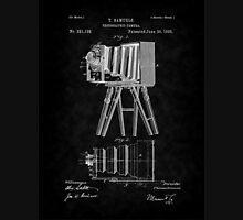 1885 View Camera Patent Art-BK Unisex T-Shirt