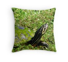 yes but not with YOU!!! Throw Pillow