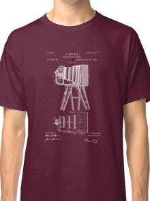 1885 View Camera Patent Art Classic T-Shirt