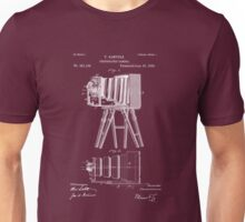 1885 View Camera Patent Art Unisex T-Shirt
