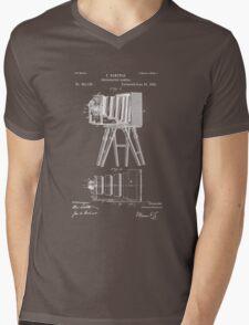 1885 View Camera Patent Art Mens V-Neck T-Shirt