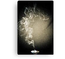 Smokey Canvas Print