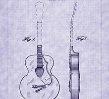 1941 Gretsch Guitar Patent by Barry  Jones