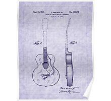 1941 Gretsch Guitar Patent Poster