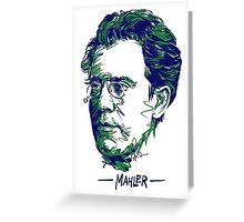 Gustav Mahler Greeting Card