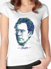 Gustav Mahler Women's Fitted Scoop T-Shirt