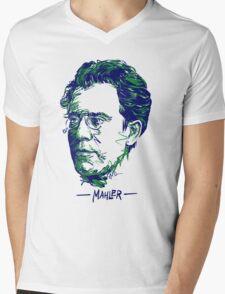 Gustav Mahler Mens V-Neck T-Shirt