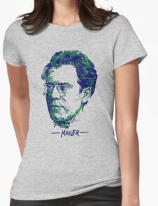 Gustav Mahler Womens Fitted T-Shirt
