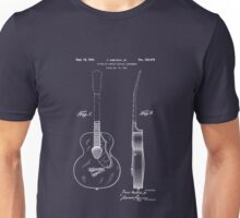 Gretch Guitar 1941 Patent Unisex T-Shirt