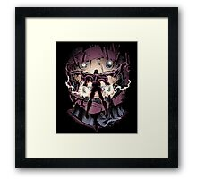 Magnetic Confrontation Framed Print