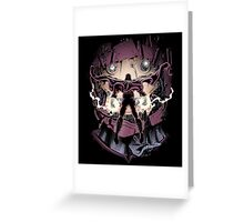 Magnetic Confrontation Greeting Card