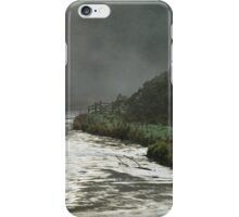 Misty River, Wolfscote Dale iPhone Case/Skin