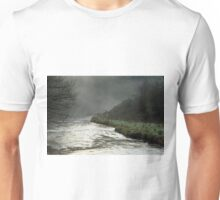 Misty River, Wolfscote Dale Unisex T-Shirt