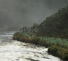 Misty River, Wolfscote Dale Sticker