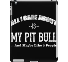 Love Pit Bulls? iPad Case/Skin