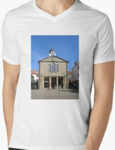 Whitby Old Town Hall Mens V-Neck T-Shirt