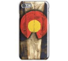 Colorado Flag - State Pallets iPhone Case/Skin
