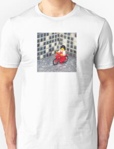 ::: { THE CYCLIST } ::: Unisex T-Shirt