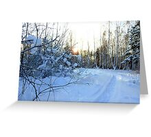 Winter Moods 10 Greeting Card
