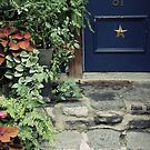 Blue Door by Caroline Fournier
