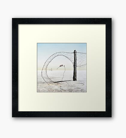 Lake Eyre II - Magic Circle Club Framed Print
