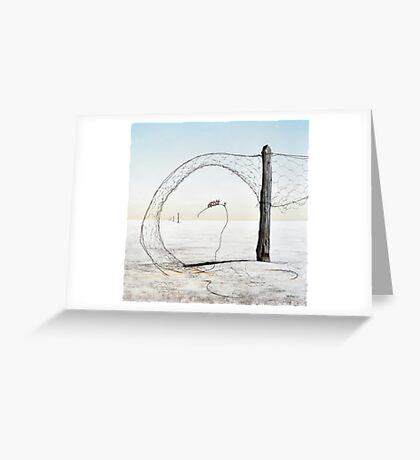 Lake Eyre II - Magic Circle Club Greeting Card