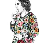 Floral Harry by coconutwishes
